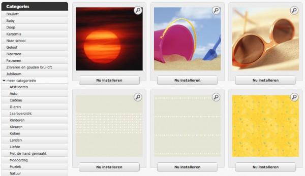 Achtergronden software CEWE FOTOBOEK