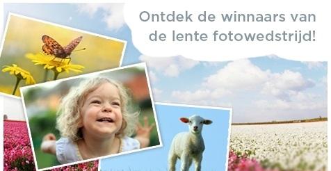 Winnaars lente fotowedstrijd zijn bekend !